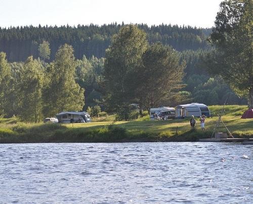 Storängens Camping, Stugor und Outdoor