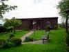 Blockhaus mit Ferienwohnung auf dem Bauernhof in Holzdorf