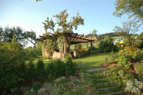 Gartenanlage vom Nussbaumerhof - Bauernhof, Niederösterreich