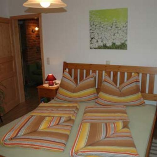 Schlafzimmer mit Doppelbett - Bauernhof , Niederösterreich