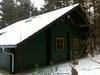 Außenansicht Winter - Ferienhaus, Fläming