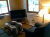 Wohnbereich mit LED Fernseher