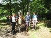 Ausflug mit Lama im Sommer