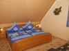 Schlafbereich mit Doppelbett - Bauernhof, Altmühltal, Naturpark