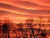 Sonnenuntergang über der Nordsee - Bauernhof, Rügen, Insel