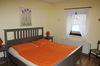 Schlafzimmer mit Doppelbett - Bauernhof, Grömitz