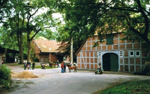 Foto von Bauernhof/Naturschutzpark und Heidekreis
