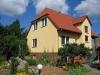 Außenansicht Sommer mit Garten Ferienwohnung in Kloster Lehnin