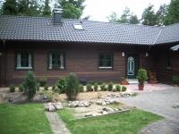 Holz-Ferienhaus