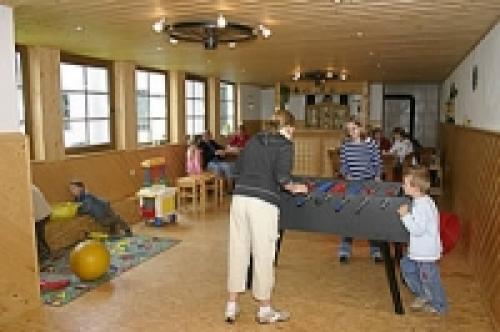 Bauerhof mit Spielplatz, Spiel- und Aufenthaltsraum, Spielscheune, Trampolin, Go-Karts, Riesensandkasten, Trampelfahrzeuge, Tischtennis. - Bauernhof , Hessen