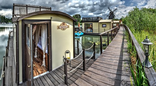 Seehotel-Apartment - Hausboot, Sachsen-Anhalt