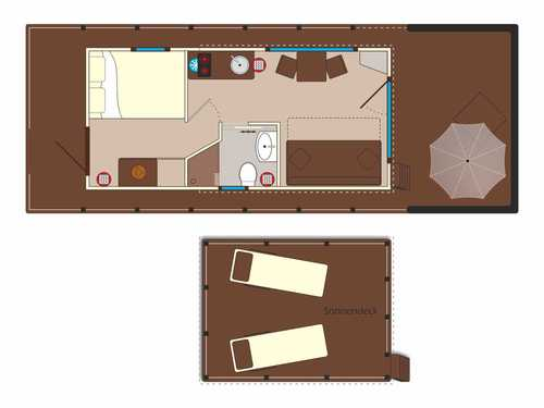 Verschaffen Sie sich einen ersten Überblick über unsere Seehotel-Apartments.