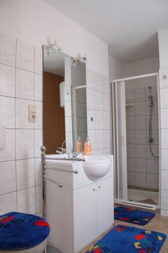 Badezimmer - Ferienwohnung, Sachsen-Anhalt