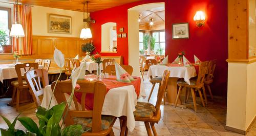Restaurant vom Landgasthof Römer-Castell im Altmühltal