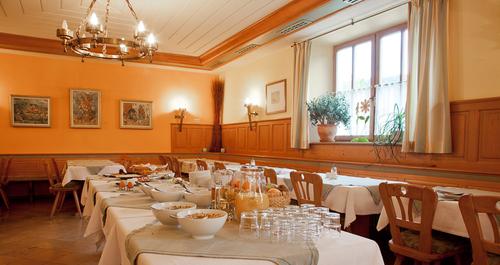 Frühstücksbuffet vom Landgasthof Römer-Castell in Kipferberg im Altmühltal
