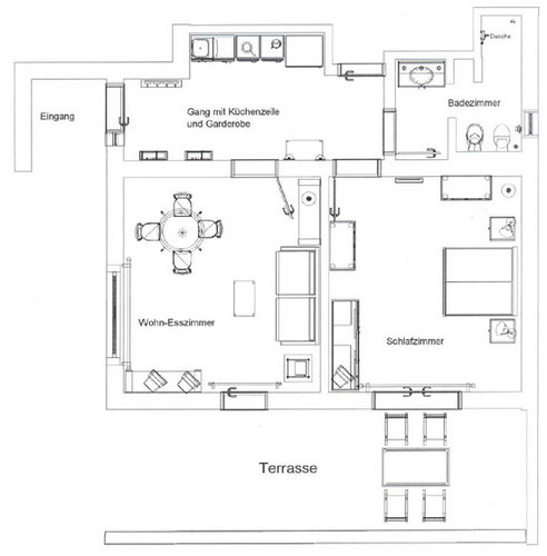 ferienwohnung la casa bianca. Black Bedroom Furniture Sets. Home Design Ideas