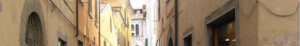 Gasse in Montaione