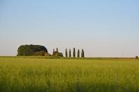 Die Landschaft der Toskana